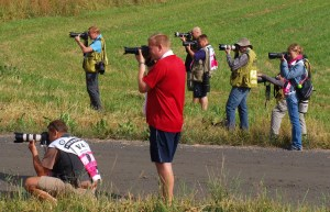 Photographers hard at work / By D.Darrall